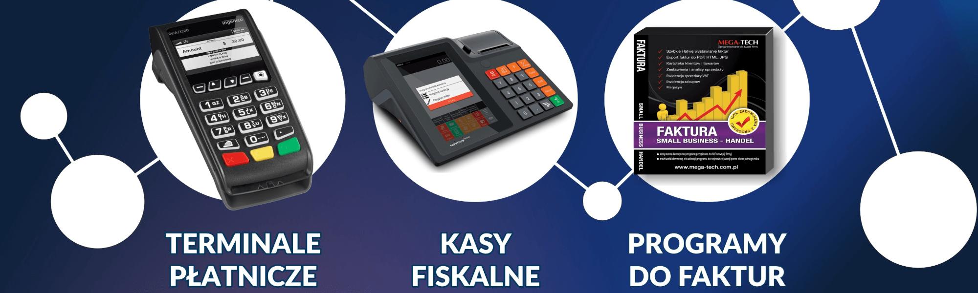 kasjer kasy fiskalne tarnów terminale płatnicze programy